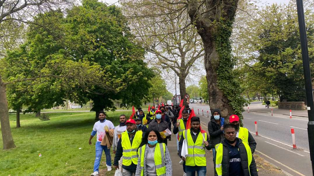⁣Walk for Lift the Ban | Wales to Westminister (W2W) |28/04/2021 - Day-6
