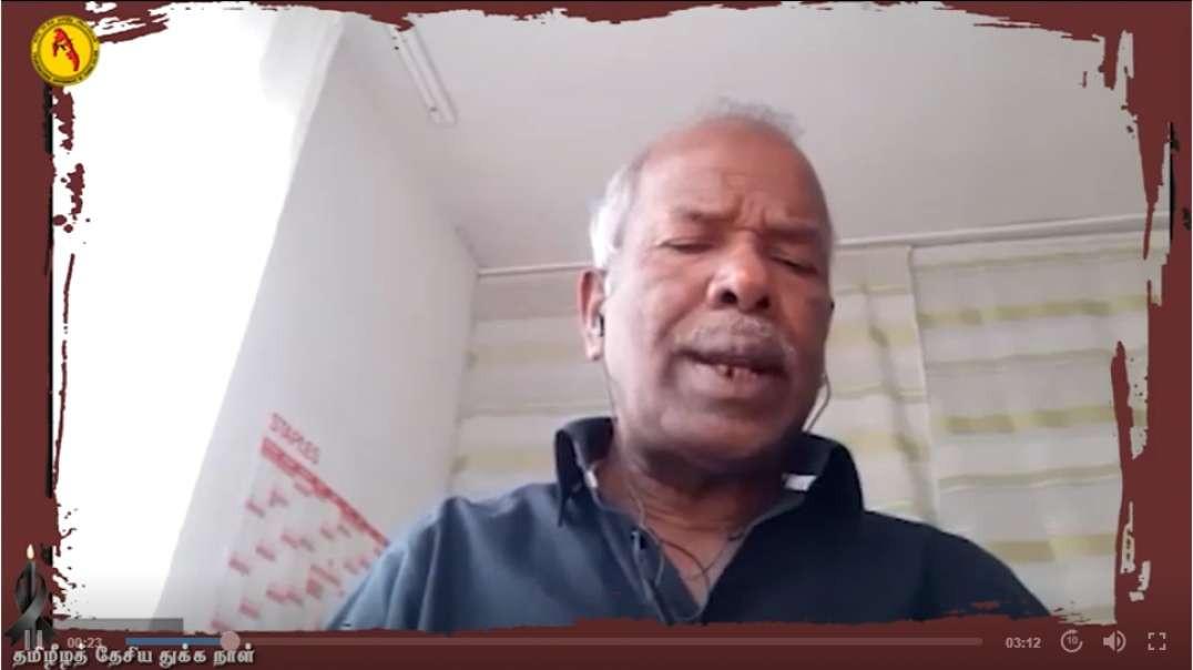 MAY 18 - MULLIVAIKKAL  I   Kandiah Subramaniam I TGTE I  தமிழீழத் தேசிய துக்க நாள்