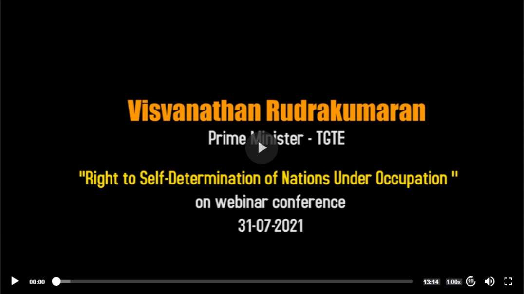 Right to Self-Determination of Nations Under Occupation.